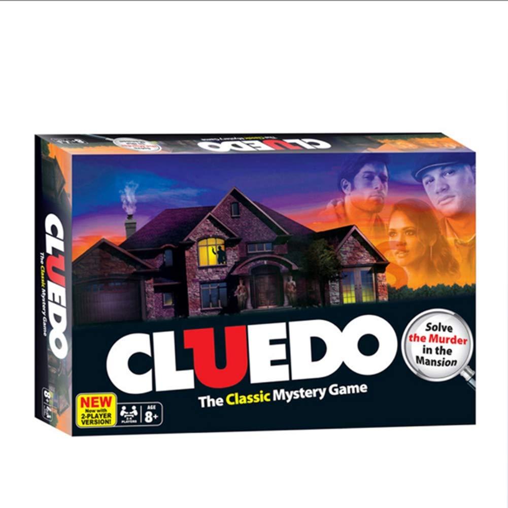Iu Hasbro Cluedo Juego de Mesa: Amazon.es: Deportes y aire libre