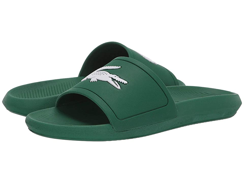 Lacoste Croco Slide 119 1 (Green/White) Men