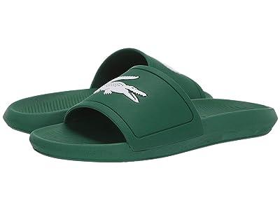 Lacoste Croco Slide 119 1 (Green/White) Men