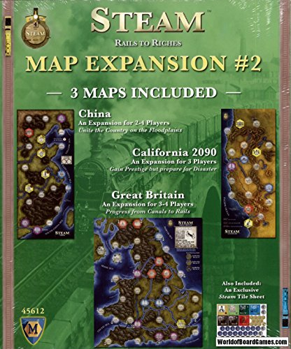 Mayfair Games MFG45612 - Brettspiele, Steam Expansion 2
