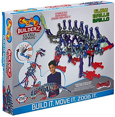 ZOOB Glow Dinos Construction Set by Zoob