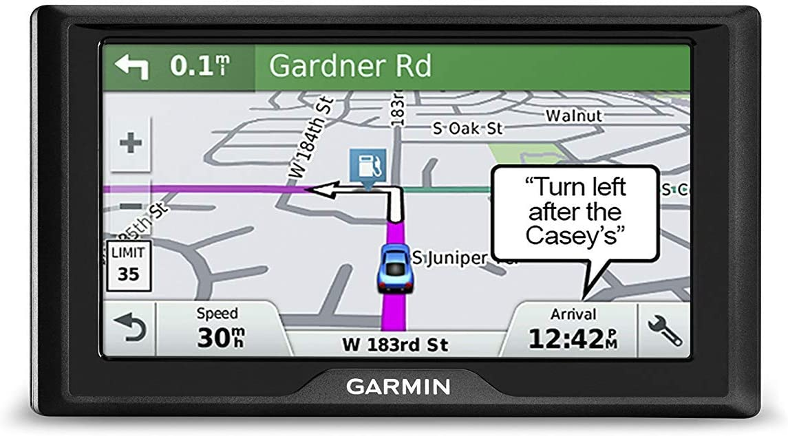 Garmin Drive 61 LMT-S USA 6-Inch GPS Navigator System with Preloaded Maps, Speed Limit Indicator & Driver Alerts (Renewed)