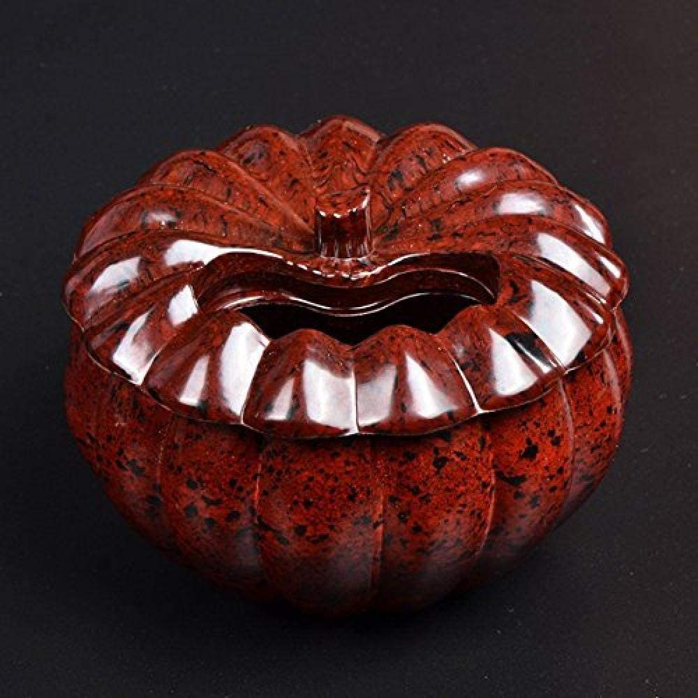 GUOCAO Decorations Art Craft Ashtray Pumpkin Don't wholesale miss the campaign Living Office Room