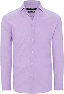 Connor Men's Joel Slim Dress Shirt Long Sleeve Slim Tops Sizes XS-3XL Affordable Quality with Great Value