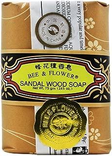 Bee and Flower Original Sandal Wood Soap, 2.68 ounces x 12 Bars