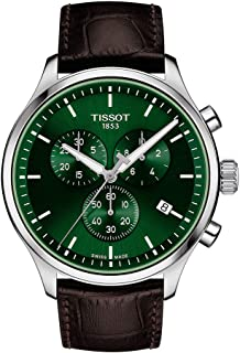 mens Tissot Chrono XL Stainless Steel Casual Watch Brown T1166171609100