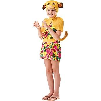 Rubies - Kit de disfraz oficial del Rey León de Disney, Simba el ...