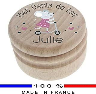 pour conserver les dents et le duvet de b/éb/é Winkey Bo/îte souvenir /à dents de lait et cheveux
