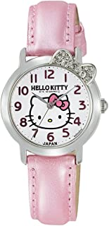 Hello Kitty Crystal Ribbon Watch (Pink)