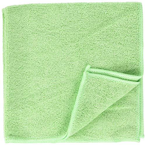 Unger Mikrofasertuch MicroWipe 200 (Farbe grün, Größe 40x40 cm, 1 Stück, 80% Polyester / 20% Polyamid, Reinigungstücher) ME400