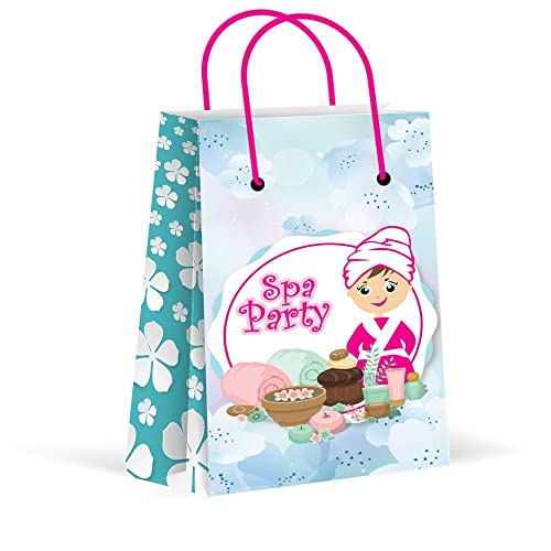 4468f2ee9f9 LARZN Premium Spa Party Bags, Girls Party Favor Bags, New, Treat Bags,