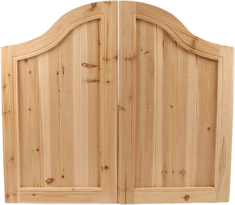 QHW Solid Ranking TOP9 Wood Salon Doors Swing Sale price Coffee Retro Shop