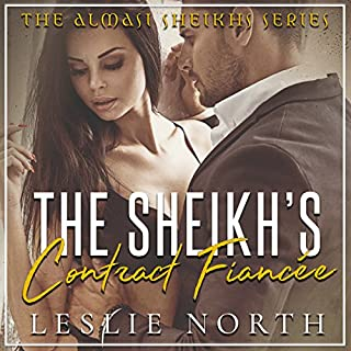 The Sheikh's Contract Fiancée cover art