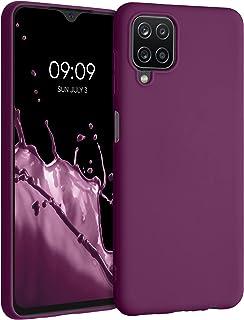 kwmobile telefoonhoesje compatibel met Samsung Galaxy A12 - Hoesje voor smartphone - Back cover in magenta-lila
