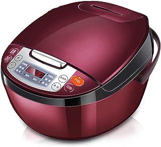 Cocina eléctrica de presión, 4L multifuncional cocina de arroz inteligente, el calor olla a presión, lento, cocina de arroz, vapor, cocción, máquinas de yogur y calentadores 1125 DDLS