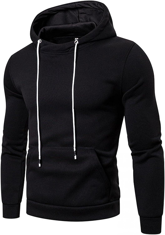 Aayomet Men's Sweater Pullover Loose Large Size Long Sleeve Hoodies With Kanga Pocket Soft Sweatshirts