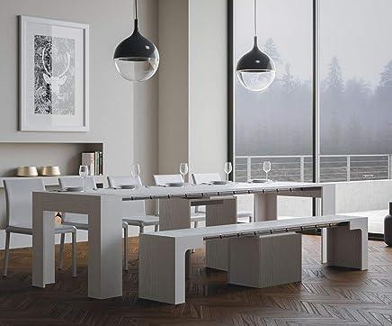 Amazon.it: panca bianca - Tavoli e tavolini / Soggiorno: Casa e cucina