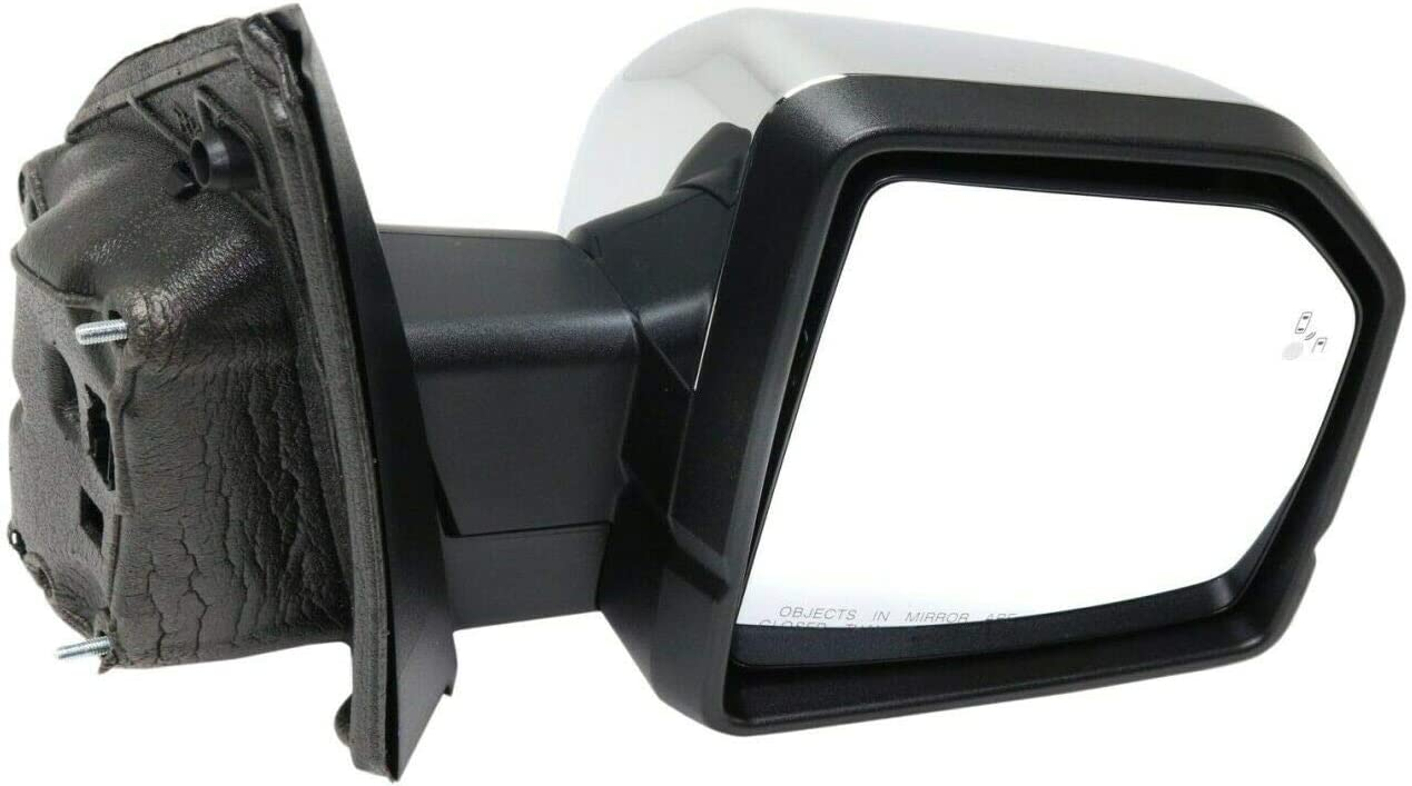 Vooviro Excellent Mirror Passenger Right Max 88% OFF Heated Compatible Los Angeles Mall Side