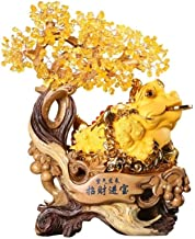 Decorations, Lucky To Get Rich, Gold Toad Ornaments, Handicrafts, Living Room, Wine Cabinet, Office, Golden Cicada Decorat...