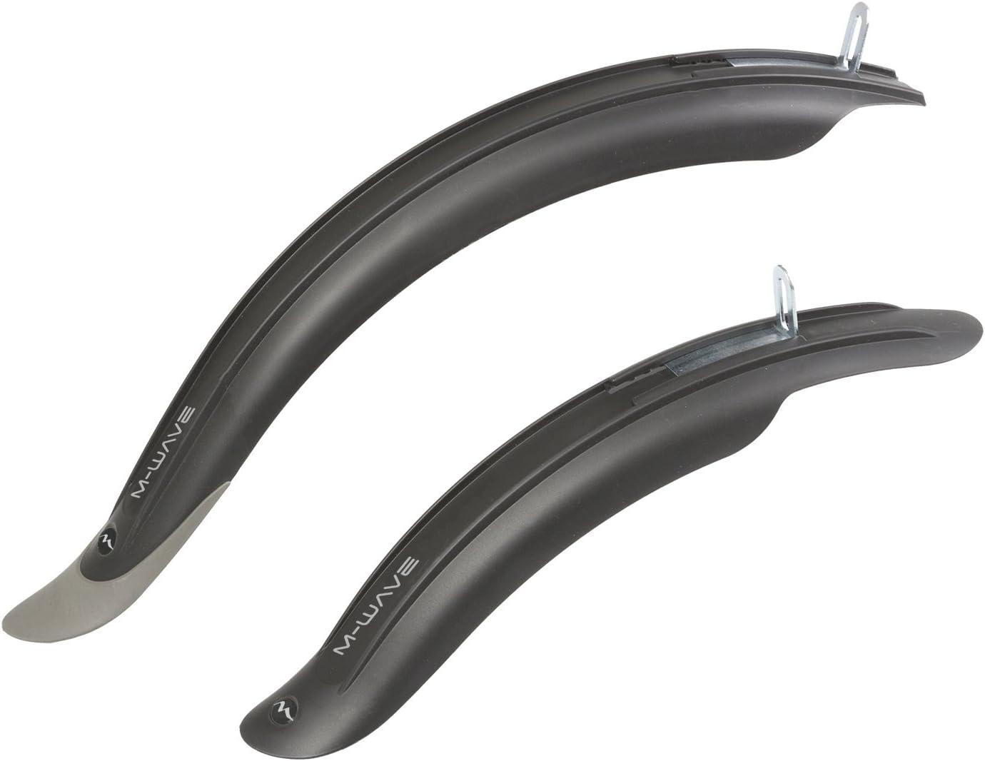 KIDS BIKE MUDGUARDS Black 12 To 20 Children Wheel Bicycle Front /& Rear Fender