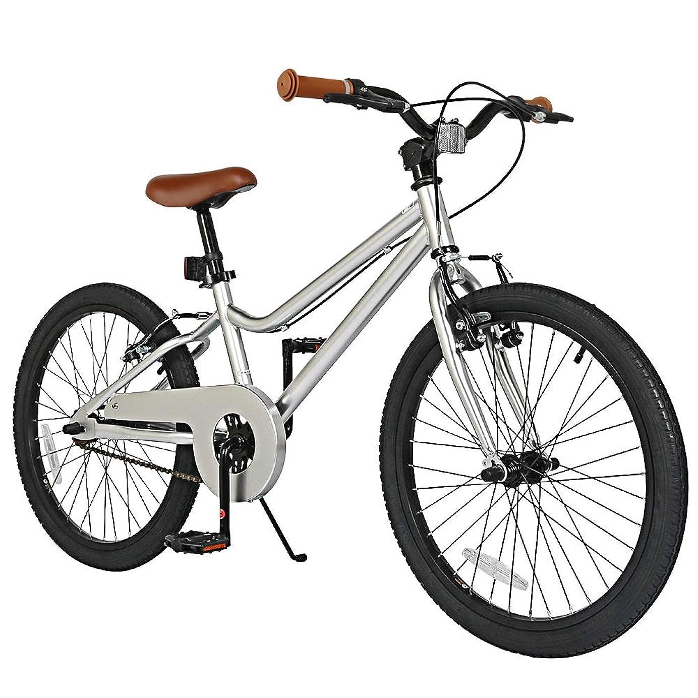 周術期交通渋滞冒険キッズバイク 16インチ トレーニングホイール付き 子供用自転車 20インチ キックスタンド付き 男の子 女の子 自転車