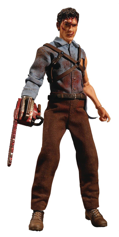 Amazon Com Mezco Toys One 12 Collective Evil Dead 2 Ash Williams Action Figure Toys Games