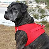 CHOKE FREE REFLECTIVE STEP IN ULTRA HARNESS RED ALL SIZES AMERICAN RIVER (XL)