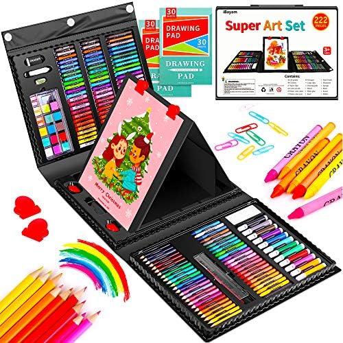 Art Set iBayam 222 Pack Art Supplies Drawing Kit for Kids Girls Boys Teens Artist Children 5 product image