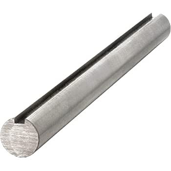 "Bar- Keyed 3//16/"" 15/"" Long Rod 3//4/""  Steel Shaft both ends"