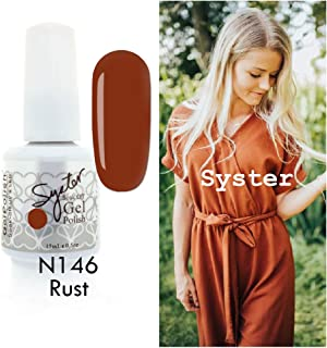 rust gel nails
