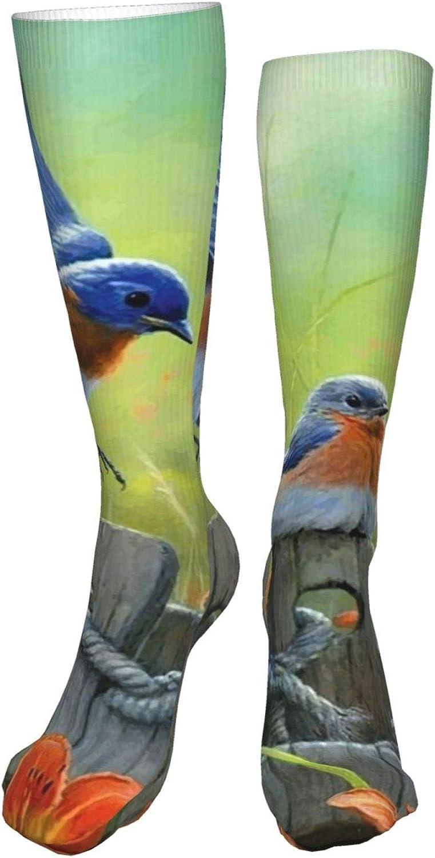 NELife Compression Socks for Women's - Beautiful Birds Circulati