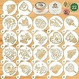 Konsait 22Pack Kids Cookies Stencil Templates...