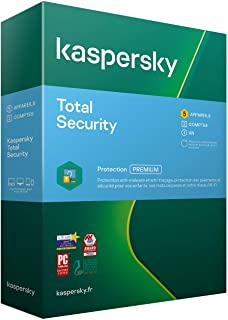 Kaspersky Lab Total Security - 5 PC - 1 an