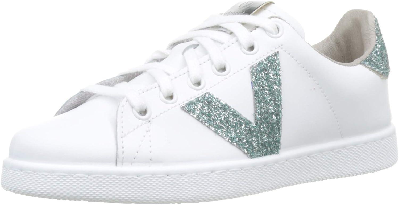 Victoria Unisex Adults' Tenis Piel Glitter Trainers