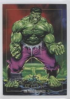 Hulk (Trading Card) 2016 Upper Deck Marvel Masterpieces - 1992 Masterpieces Joe Jusko Commemorative Buybacks #32