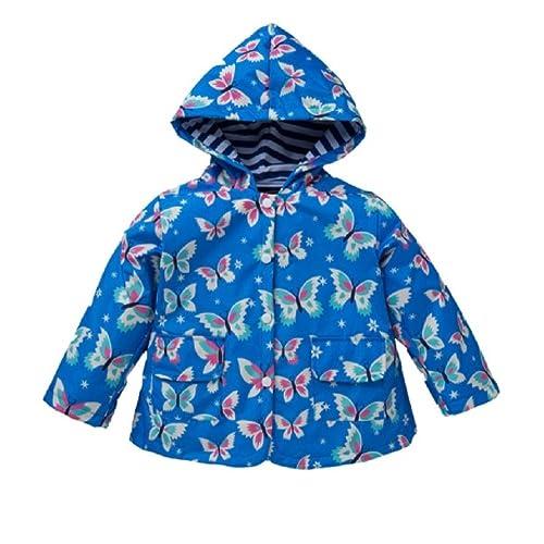 dc2746122b Girls Rain Coat Jacket Summer Hood Windbreaker Spring Mac Raincoat Age 1 to  6 Years Pink