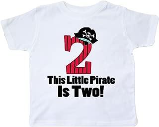 inktastic Pirate 2nd Birthday Toddler T-Shirt