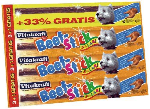 Beef-stick Snack Cane Tacchino 3 + 1 In Omaggio 12 Gr