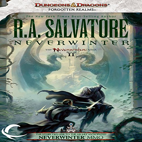 Neverwinter audiobook cover art