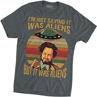 I'm Not Saying It was Aliens Vintage Retro T-Shirt