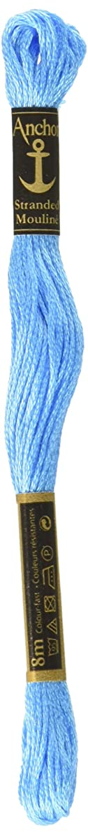 Anchor Six Strand Embroidery Floss 8.75 Yards-Electric Blue Light 12 per box ehthlh3206