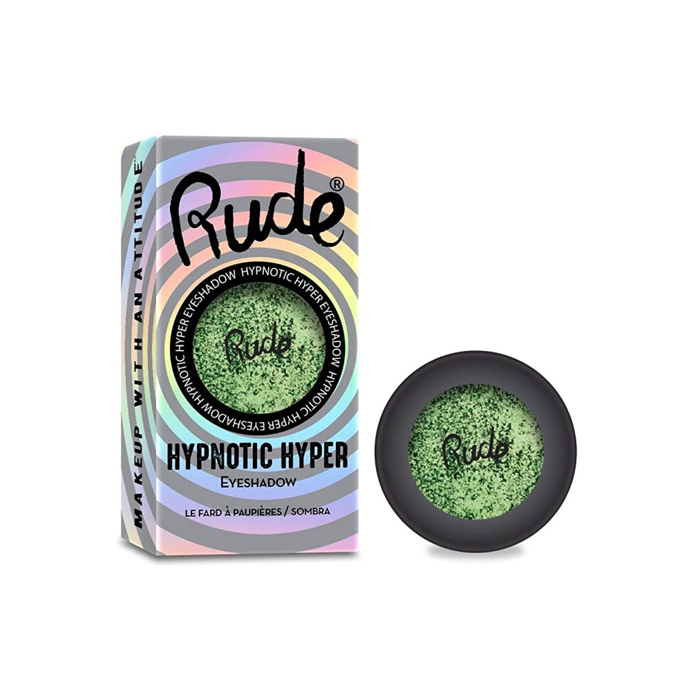 神聖ラグ証言RUDE Hypnotic Hyper Duo Chrome Eyeshadow - Wave Rave (並行輸入品)