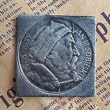 1933,Polonia,10 Zlotys,de Imitación,Monedas,Objetos de Colección,Muy Bien,Monedas de Desafío,de Alta Calidad,Plata Chapado,2Pcs Medallas/Plata / 2 Piezas