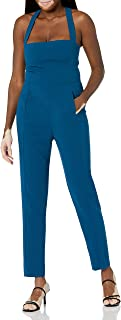 Black Halo Womens 3591224 Bene Jumpsuit Jumpsuit - Blue