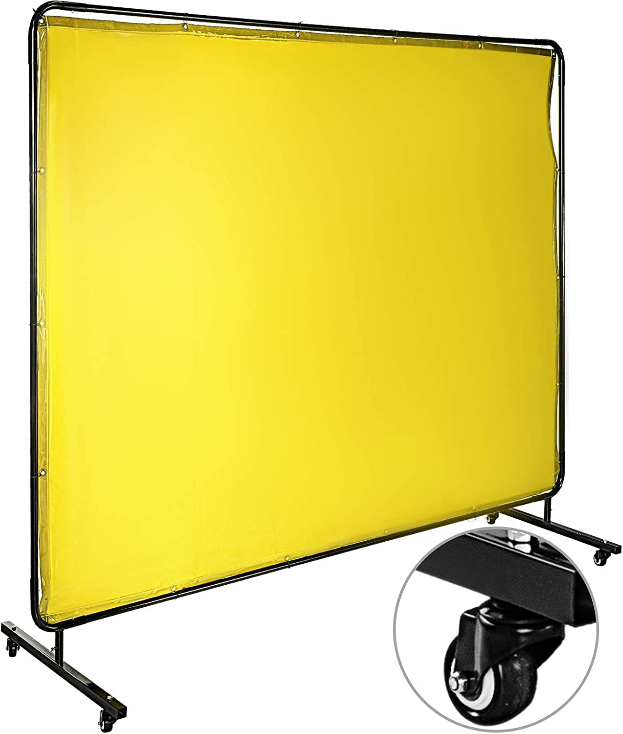 Mophorn Welding Purchase Screen with Frame 6' 8' Curtain Fort Worth Mall x