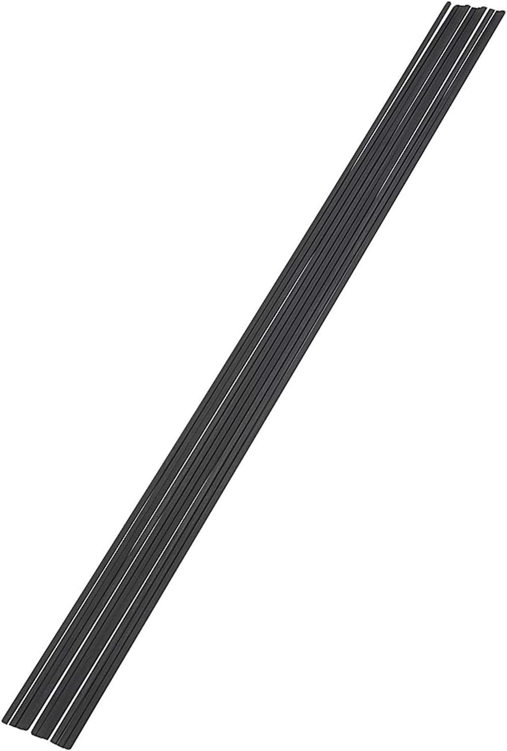 MZA Haute r/ésistance Fibre de Carbone tiges utilis/é for Les Outils davion DIY mod/èle Avion Mat en Fibre de Carbone carr/ée Rods 10 pi/èces//Ensemble de 400 mm carr/és Fibre de Carbone Rods