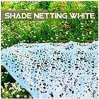 HTTWZW パティオガーデン植物サンシェード屋外サンシェードジャングルバードウォッチングに適しカモネッティングホワイト、迷彩ネットオックスフォード生地狩猟シェードカバー、 W8Z8W8 (サイズ : 3x6m)