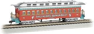 Bachmann Industries Ringling Bros and Barnum & Bailey 1860 1880 Coach #75 Freight Car