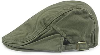 FASHION Men Womens Duckbill Ivy Cap Golf Driving Flat Cabbie Newsboy Beret Hat Solid Color