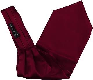 Plain Men's Fashion Cravat Microfiber Wedding Ascot Tie Extra Long Size 53 inches